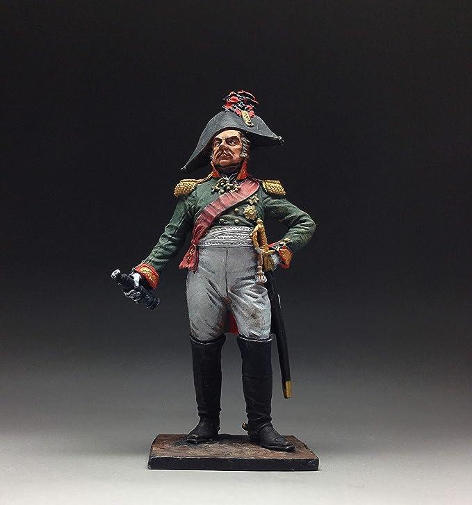 Tin Soldiers 54mm General D Russia Figurine Miniature R249 S 1812 Dokhturov