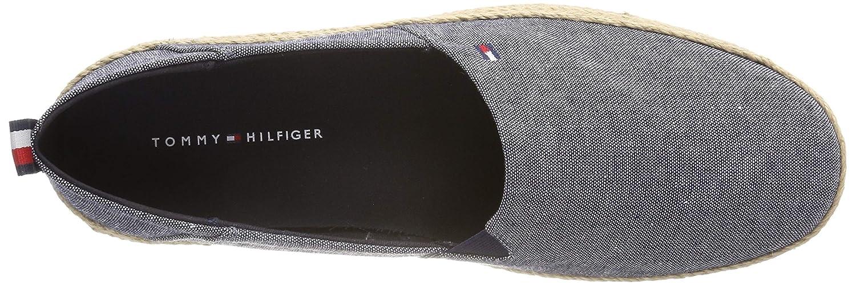 Tommy Hilfiger Chambray Slipon Espadrille, Alpargata para Hombre: Amazon.es: Zapatos y complementos