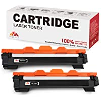 Mony Compatible Cartuchos de Tóner para Brother TN1050 TN-1050 Compatible con Brother DCP-1510 HL-1110 DCP-1612w MFC…