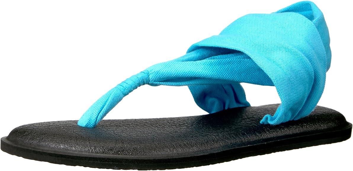 Womens Yoga Sling 2 Spectrum Flip-Flop (40 M EU / 9 B(M) US, Aqua)