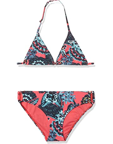 27c78e66f4 Roxy Girls   Let the Surfs Two Piece