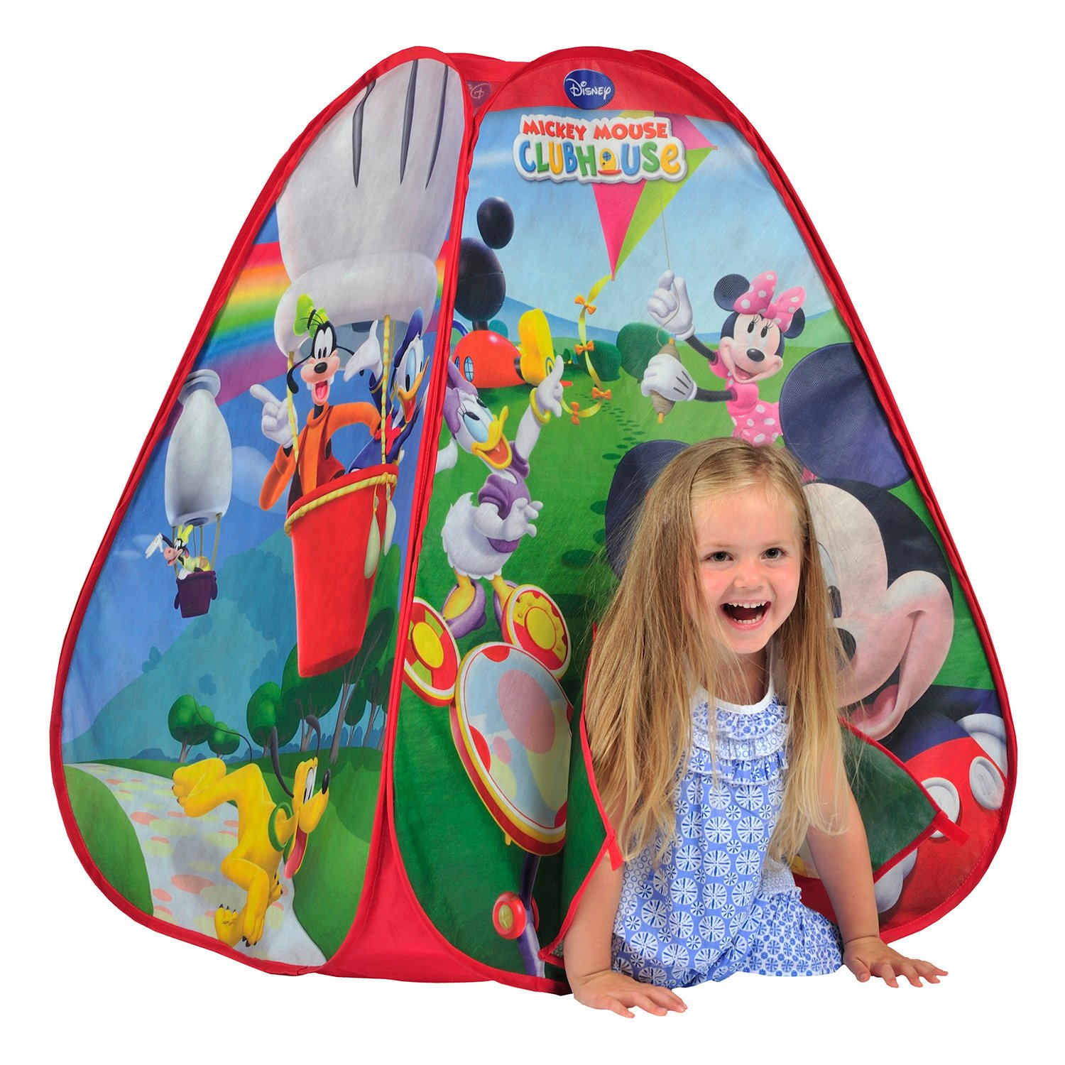 Amazon.com Knorrtoys N6637 Popup Tent - Mickey Mouse Clubhouse by Knorrtoys Toys u0026 Games  sc 1 st  Amazon.com & Amazon.com: Knorrtoys N6637 Popup Tent - Mickey Mouse Clubhouse by ...