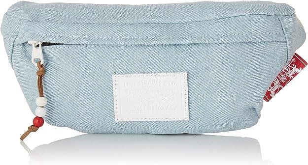Levi's Banana Sling - Denim Men's Shoulder Bag, Blue (Light Blue), 11x5.5x27.5 centimeters (W x H x L),Levi's,231615-6