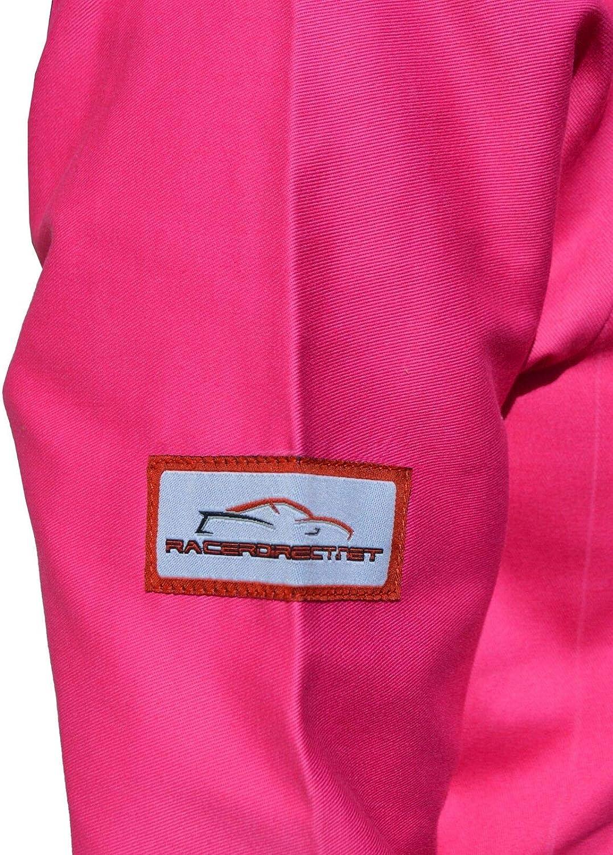 FIRE Suit Race Suit Jacket SFI 3-2A//1 Size 14-16 YRS of Age Racerdirect Pink Kids JR Junior