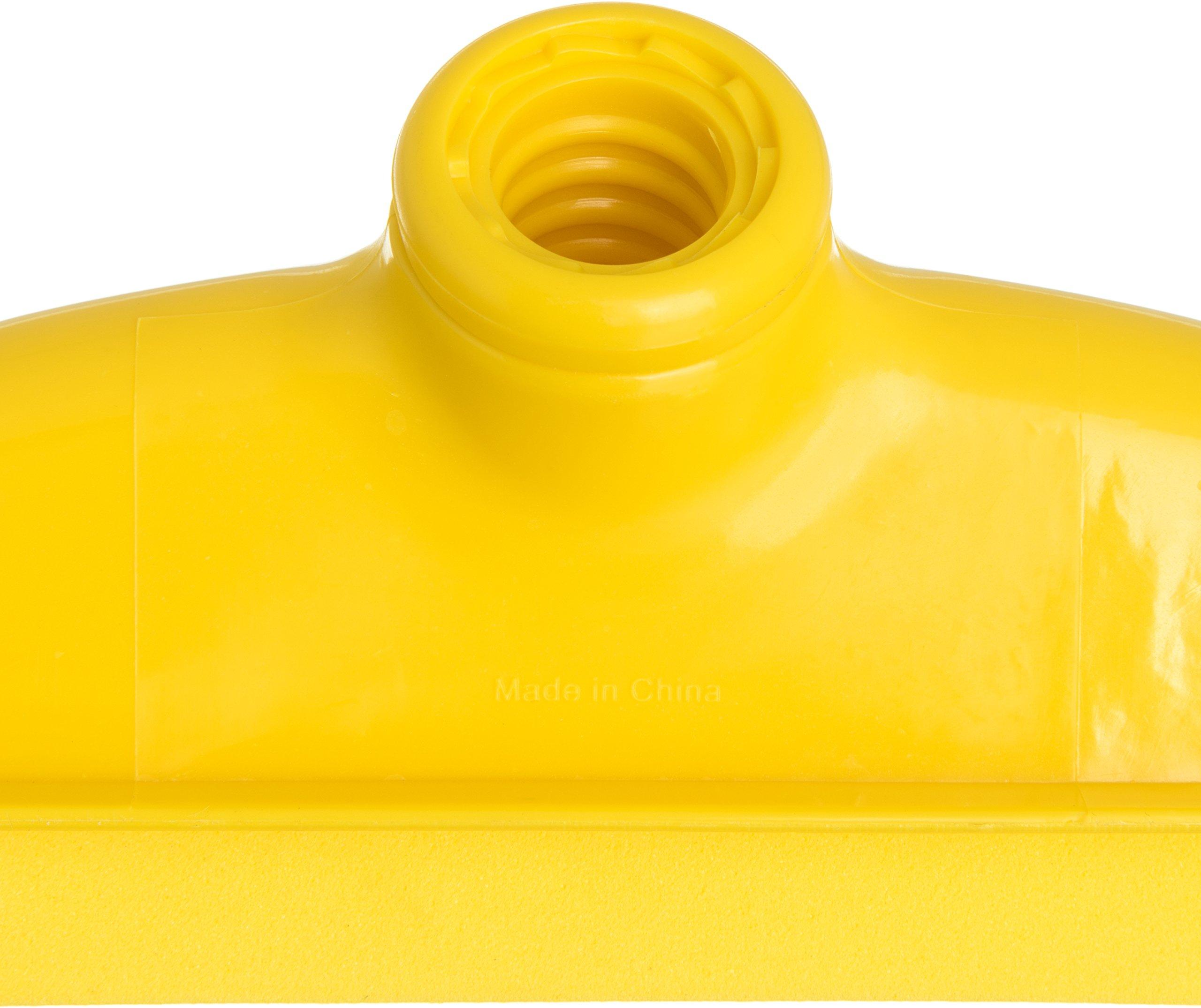 Carlisle 4156804 Spectrum Double Foam Rubber Floor Squeegee, 24'' Width, Yellow (Case of 6) by Carlisle (Image #4)
