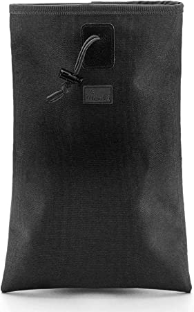 WOLF TACTICAL Roll Up MOLLE Dump Pouch - Drawstring Open Drop Bag for Mags, Ammo, Shells, Hunting, Range Shooting