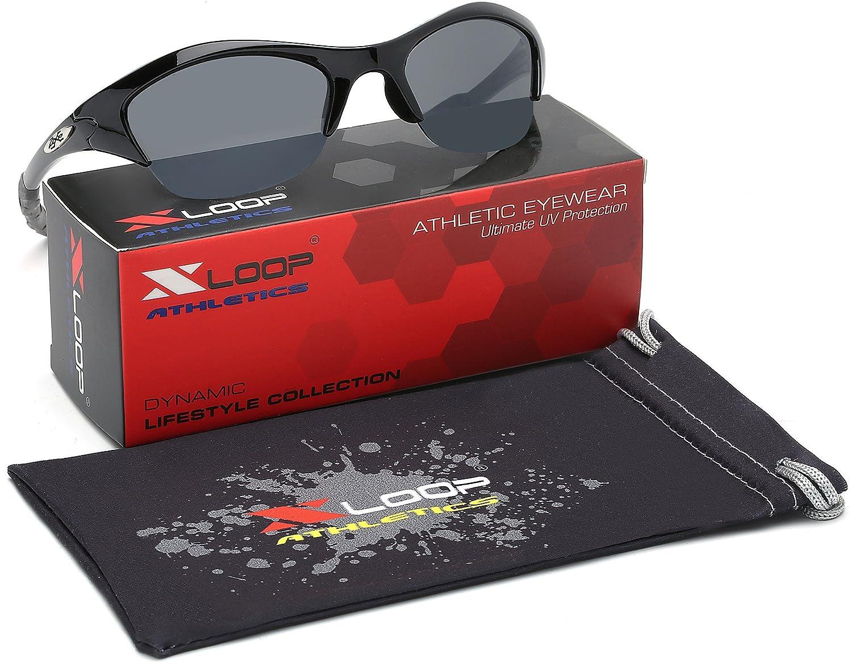 KIDS AGE 3-12 Half Frame Sports Sunglasses KD5503