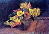 """Art Oyster Paul Gauguin Evening Primroses in a Vase - 18.1"""" x 27.1"""" 100% Hand Painted Oil Painting Reproduction"""