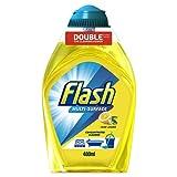 Flash Multi-Surface Crisp Lemons Concentrated Cleaner, 400 ml