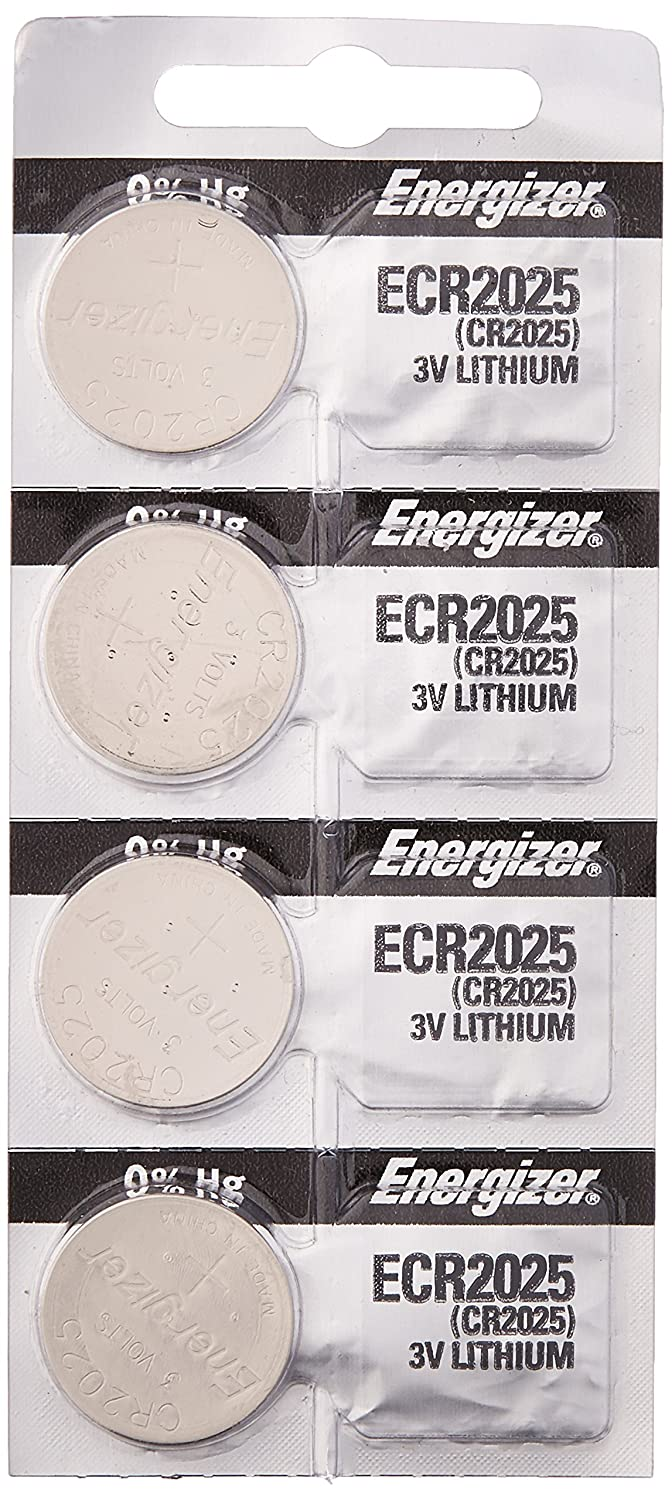 Energizer CR2025 Lithium Battery, Card of 5ORMD Energizer Batteries FBA_ECR2025 BYCR2025