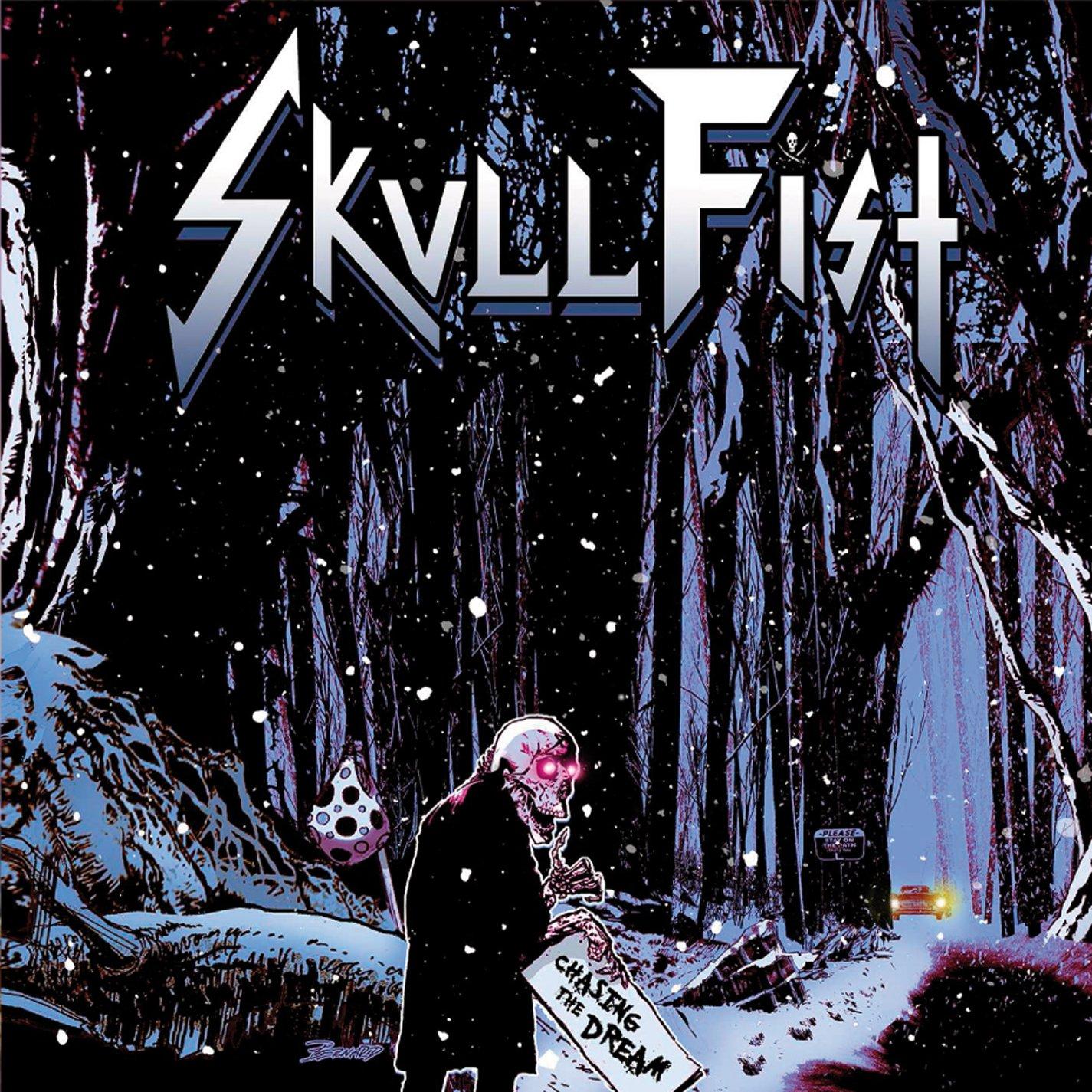 CD : Skull Fist - Chasing The Dream (CD)