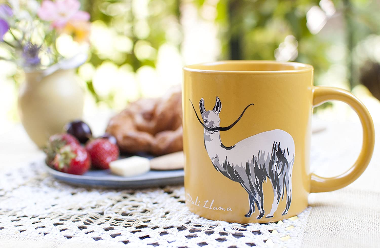 Amazon.com   Dali Llama Coffee Mug - Start Your Day with Some Inner ...