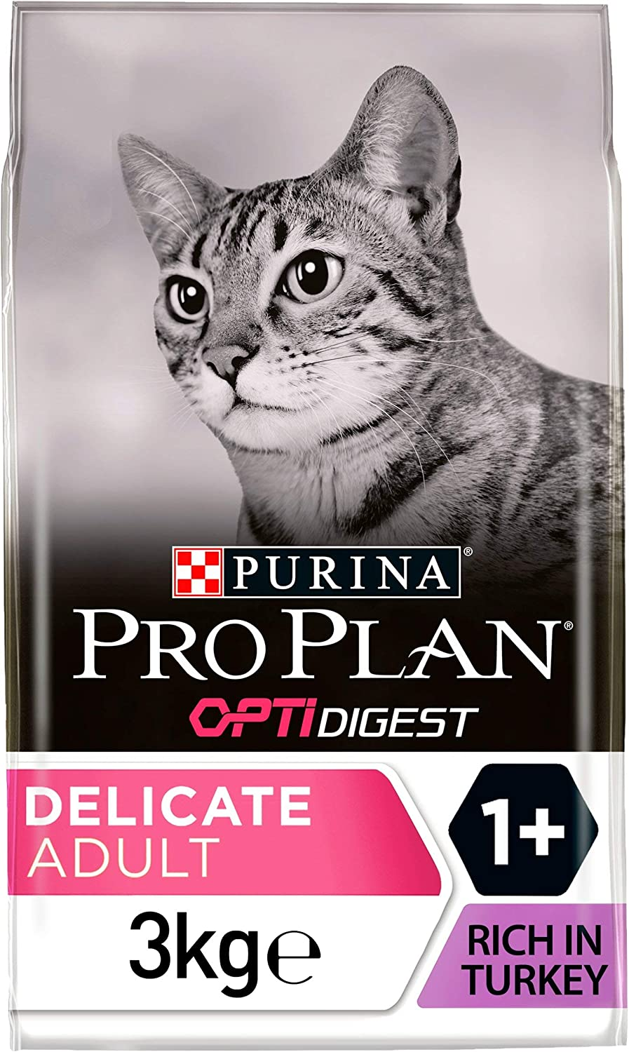 Purina Pro Plan Gato Delicate con Optidigest Pavo 3 kg