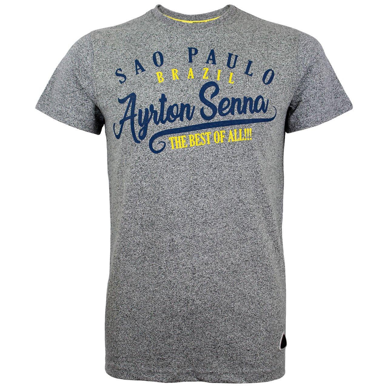 MBA-SPORT Ayrton Senna Polo-Shirt Sao Paulo