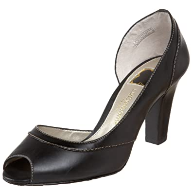 6b402eca91 Amazon.com | Liz Claiborne Women's Belle Peep-Toe Pump, Black, 10 M ...