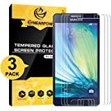 NEARPOW [3 Pack] Samsung Galaxy A5 2015 Screen Protector, [Tempered Glass] Screen Protector with [9H Hardness] [Crystal Clear] [Bubble-Free Installation] [Scratch Resist]