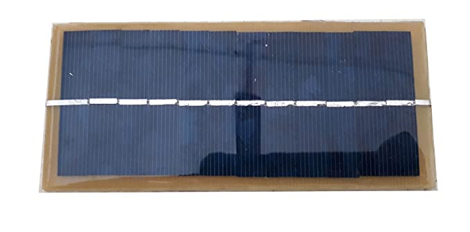 easy electronics Solar Panel 6V-150Ma (15 x 6cm)