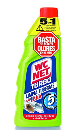 Wc net turbo limpiatuberias 5 minutos. contenido: 500ml.: Amazon.es: Belleza