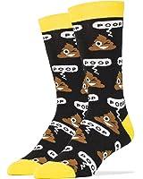 Oooh Yeah Men's Luxury Combed Cotton Crew Socks Funny