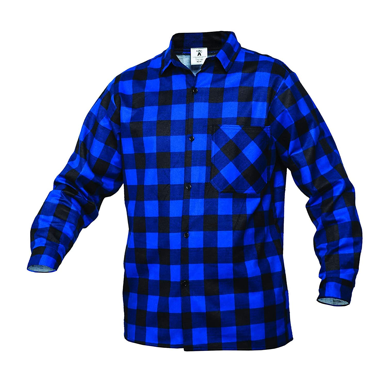 Gahibre 482 Camisa franela azul, 100% algodón 170 gramos: Amazon.es: Industria, empresas y ciencia