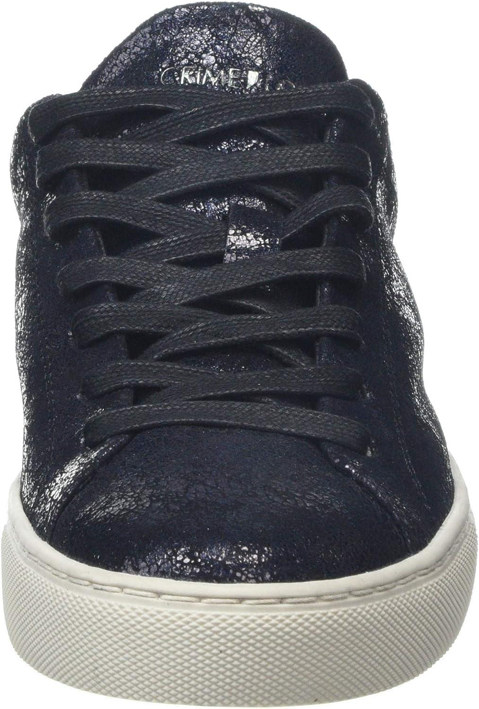 CRIME London dames Beat Sneakers Schwarz (Black 20)