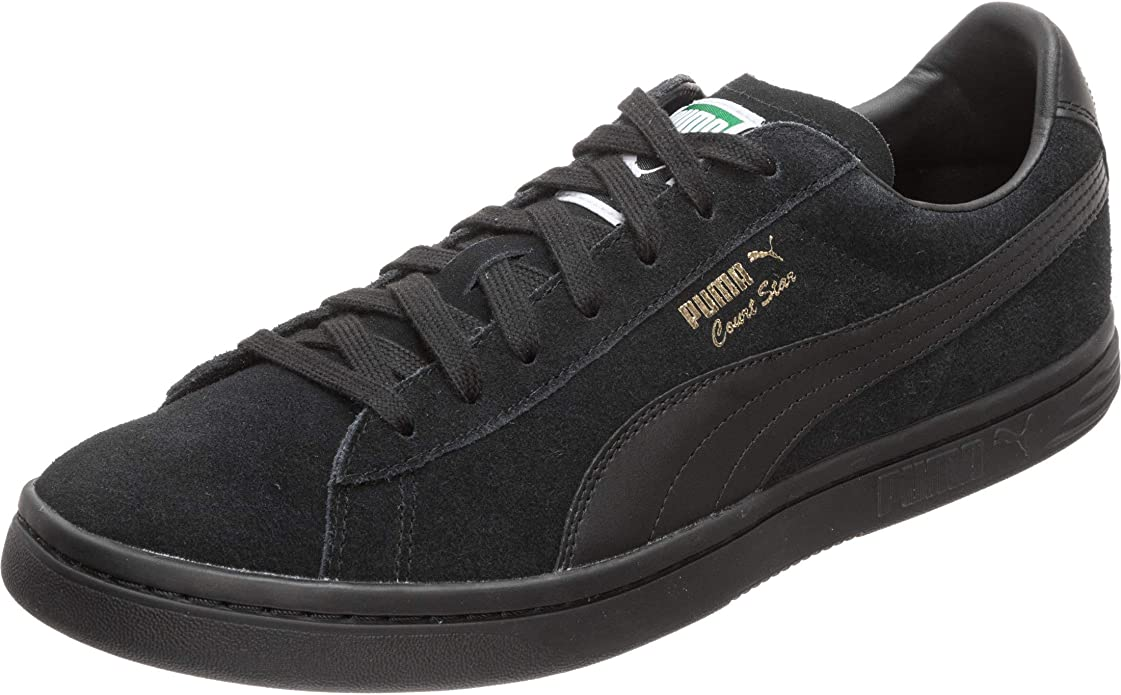 Puma Court Star FS Sneaker Damen Herren Unisex Schwarz
