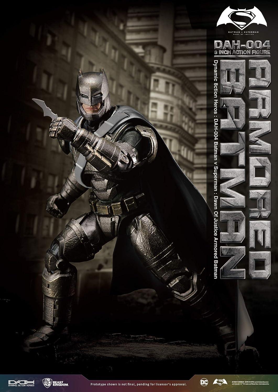 Beast Kingdom v Superman Dah-004 Dynamic 8ction Heroes Armored Batman Action
