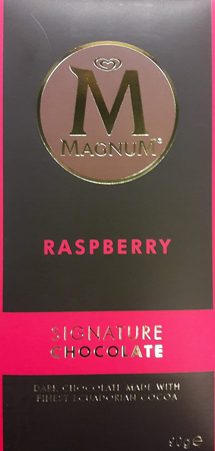 Amazon.com : Magnum Signature Chocolate Rasberry (3 x 90g) : Grocery & Gourmet Food