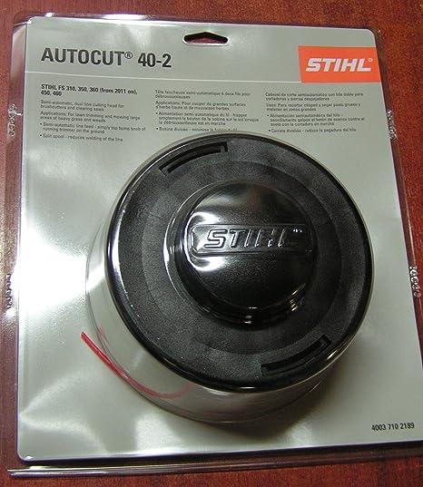 Amazon.com: Stihl Autocut 40 – Cabezal de 2 Trimmer: Home ...