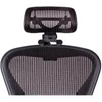 The Original Headrest for The Herman Miller Aeron Chair H3 Carbon | Colors and Mesh Match Classic Aeron Chair 2016 and…