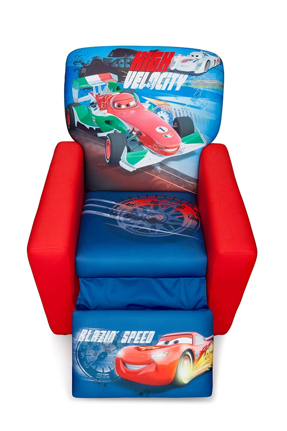 Disney Pixar Cars Upholstered Recliner; Disney Pixar Cars Upholstered Recliner ...  sc 1 st  eBay & Delta Disney Cars Upholstered Recliner Chair. | eBay islam-shia.org