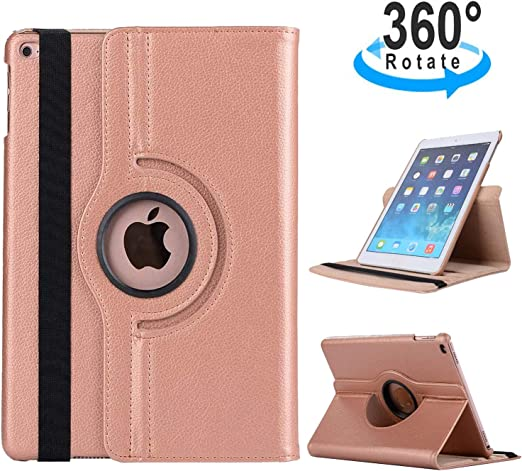 360 Rotating Magnetic Leather Case Smart Cover Stand For iPad Air