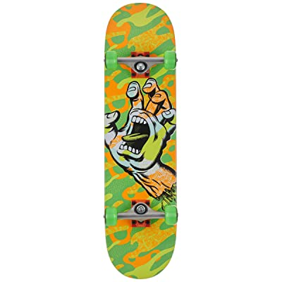 Santa Cruz Primary Hand Complete Green/Orange 8.0 : Sports & Outdoors