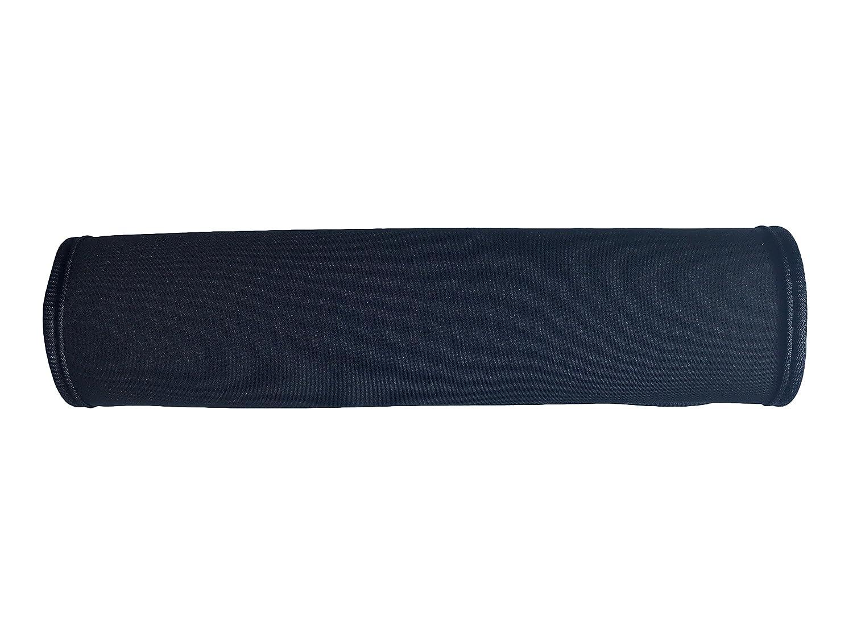 Car seatbelt protector, safety belt shoulder pad, shoulder cushion, car seat seatbelt pad for children and adults (black) - by Heckbo.
