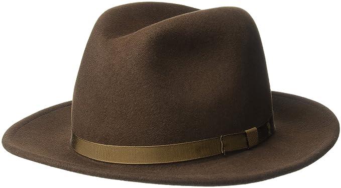 Country Gentleman Men s Wilton Wool Fedora Hat  Amazon.in  Clothing ... 4115749e6ed