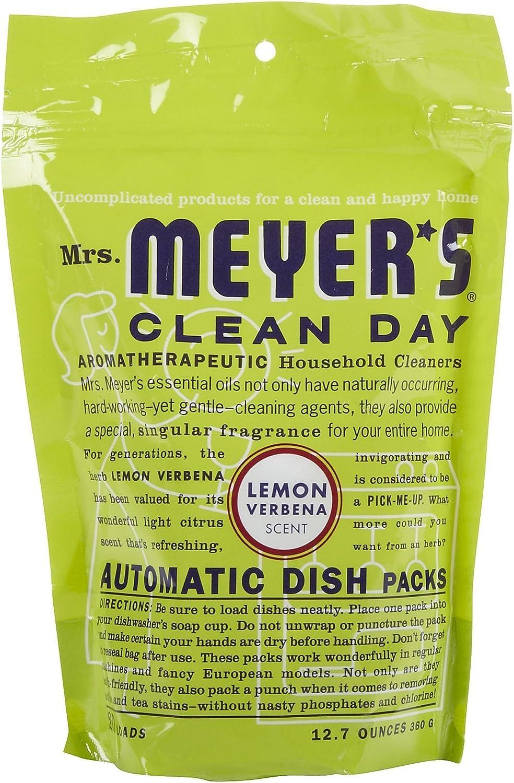 Mrs. Meyer's, Dishwasher Lemon Verbena, 11.6 Ounce