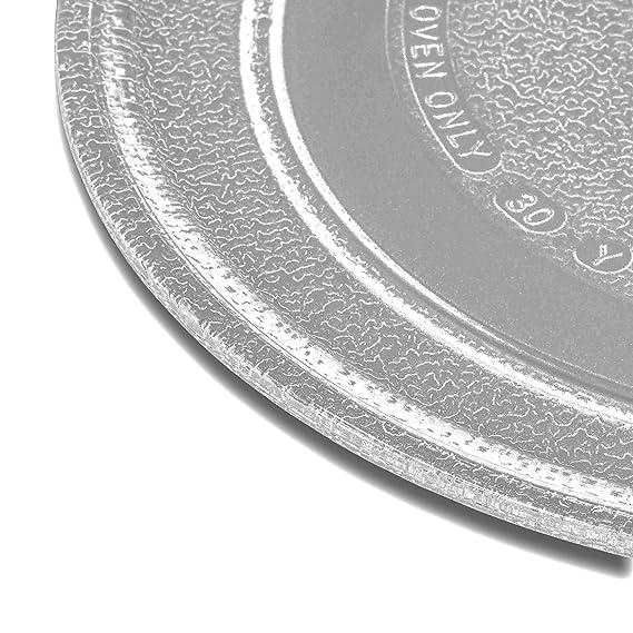 vhbw vidrio plato para microondas, plato giratorio de 24.5cm para microondas Bosch HMT702, HMT703, HMT742, HMT743: Amazon.es: Hogar