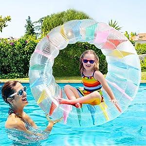 ALLADINBOX Inflatable Roller Float, 40
