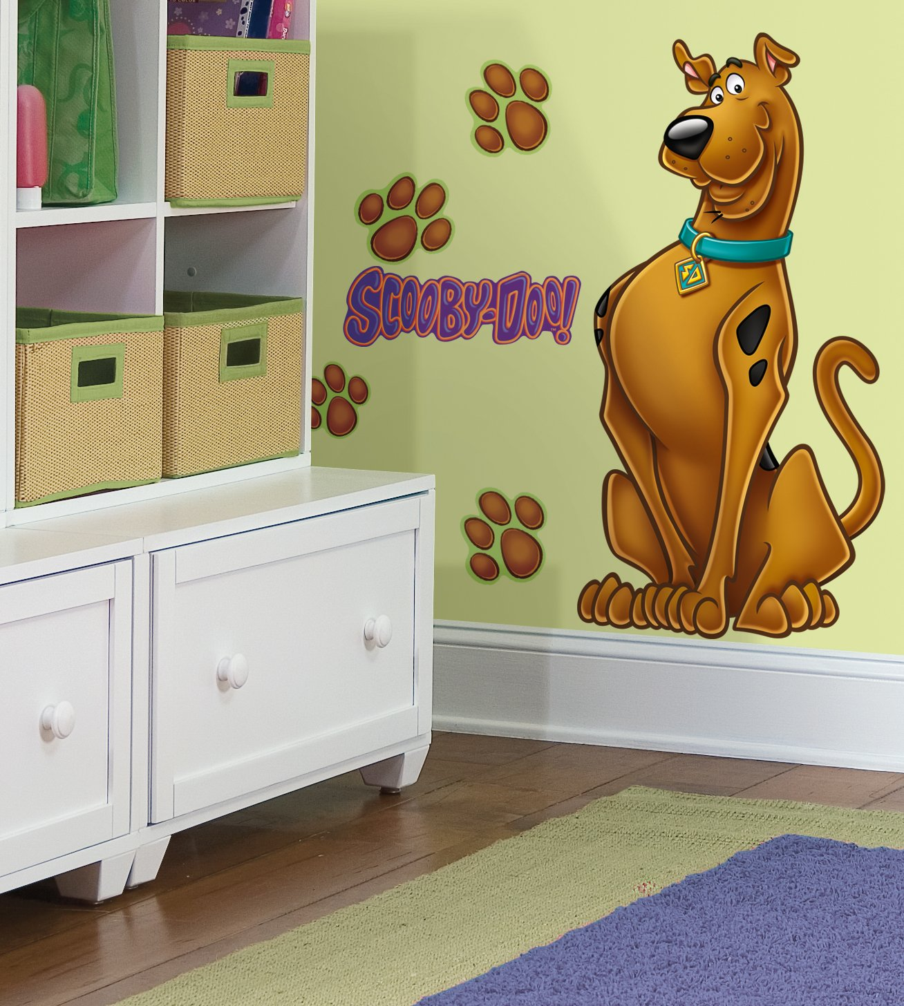 Amazon.com: RoomMates RMK1607GM Scooby Doo Peel U0026 Stick Giant Wall Decal:  Home Improvement