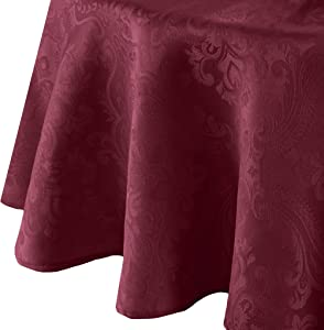 Elrene Home Fashions Caiden Elegance Damask Tablecloth, 70
