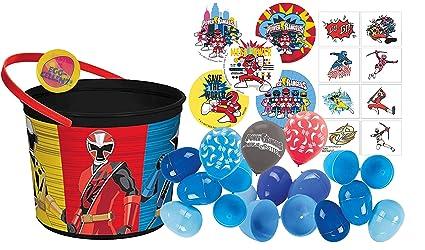 Amazon.com: Ninja Steel Toddler Sized Easter Egg Loot Bucket ...