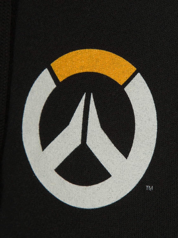 Overwatch Mens Logo Zip-Up Hoodie