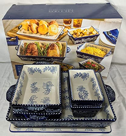 Amazon Com Baum Dishwasher Safe Ceramic Serveware Bakeware