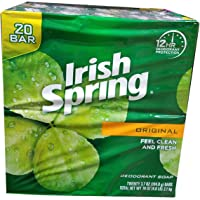 20- Count Irish Spring Original Bar Soap