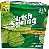 Irish Spring Original bar Soap (20/3.75 Oz Net Wt 74 Oz),, ()