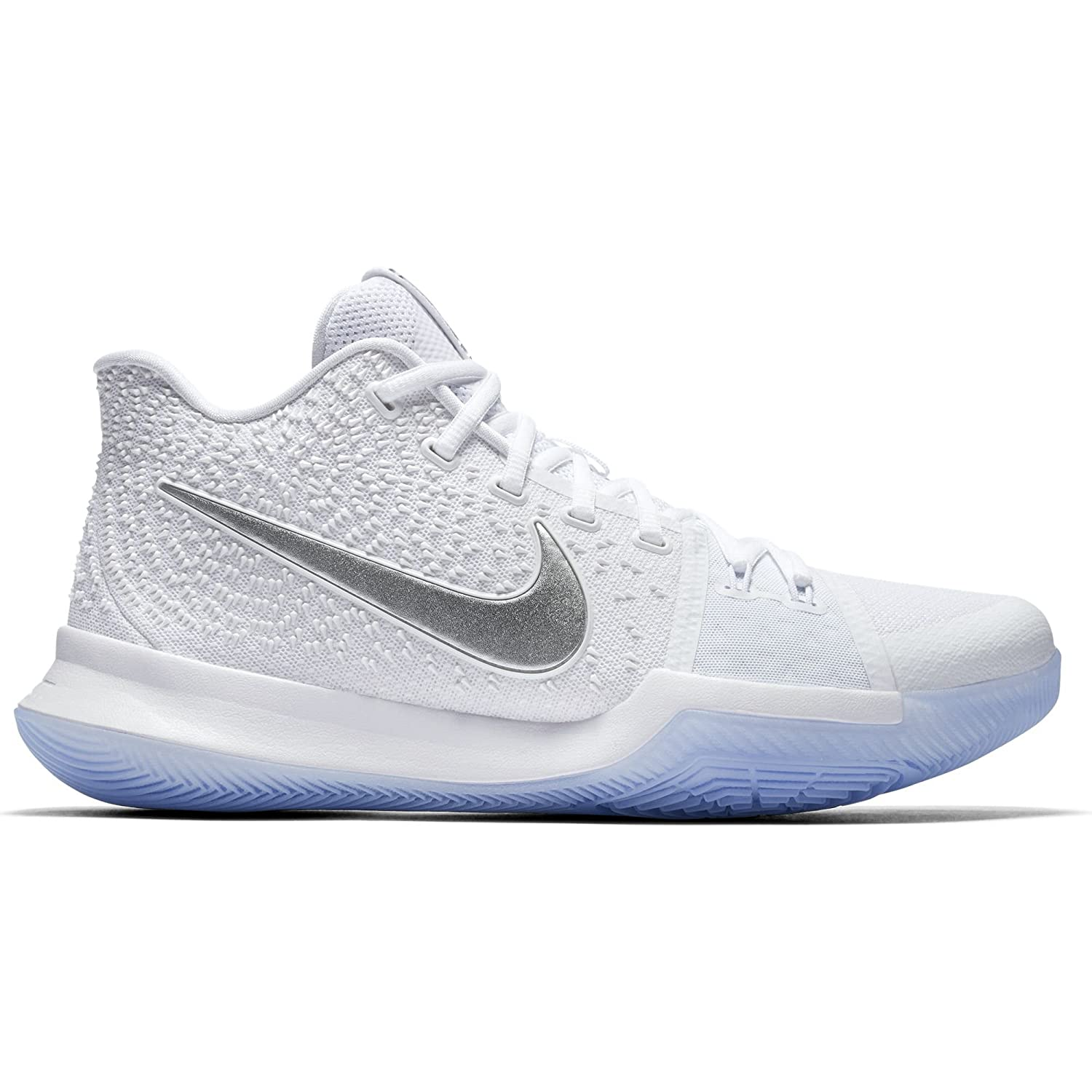 san francisco 3bef6 10309 ... NIKE NIKE NIKE Boys Kyrie 3 Colorblock Mids Basketball Shoes B00CCO3C9S  4Y White 2956b4 ...
