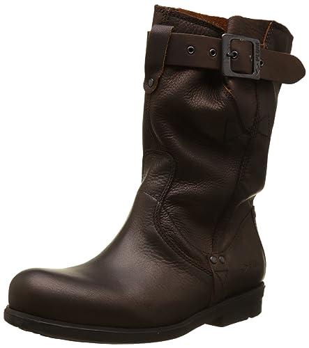 Silfer Shoes , Bottes Motard femme - noir - noir, 37 EU