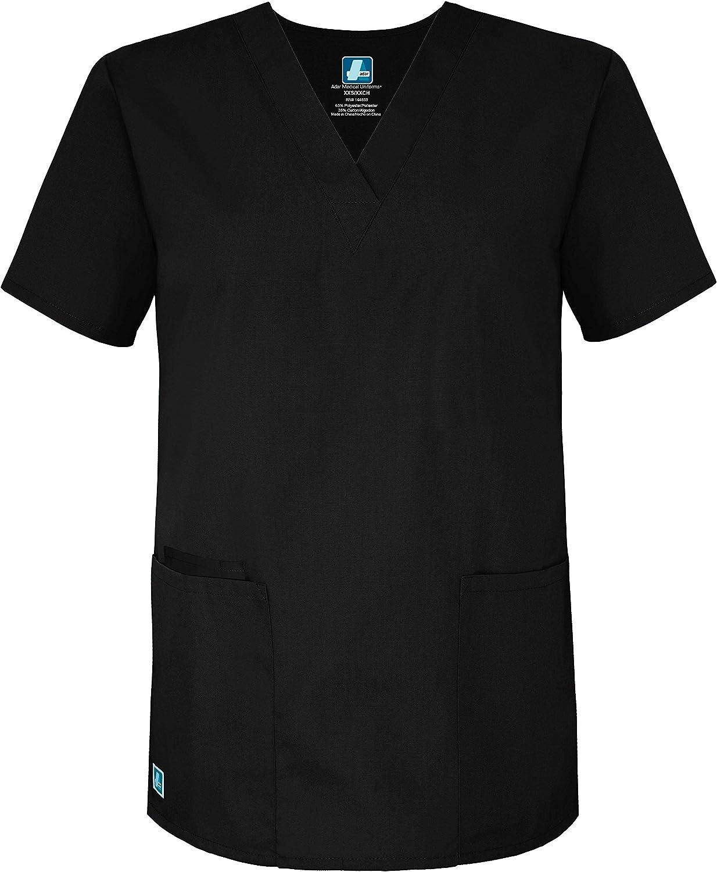Uniformi Mediche Camice Unisex Parte Superiore Infermiera Ospedale da Lavoro