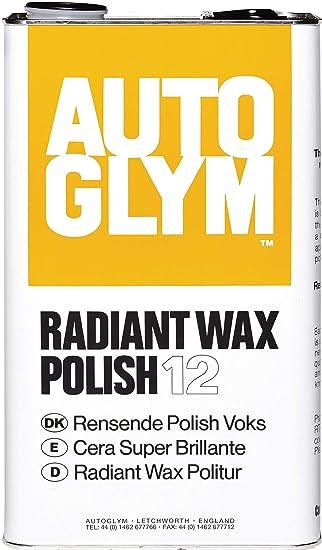Autoglym Cera Radiante 5ltr Super Resina Pulida Botella de Pulido Gratis 500 ML: Amazon.es: Coche y moto