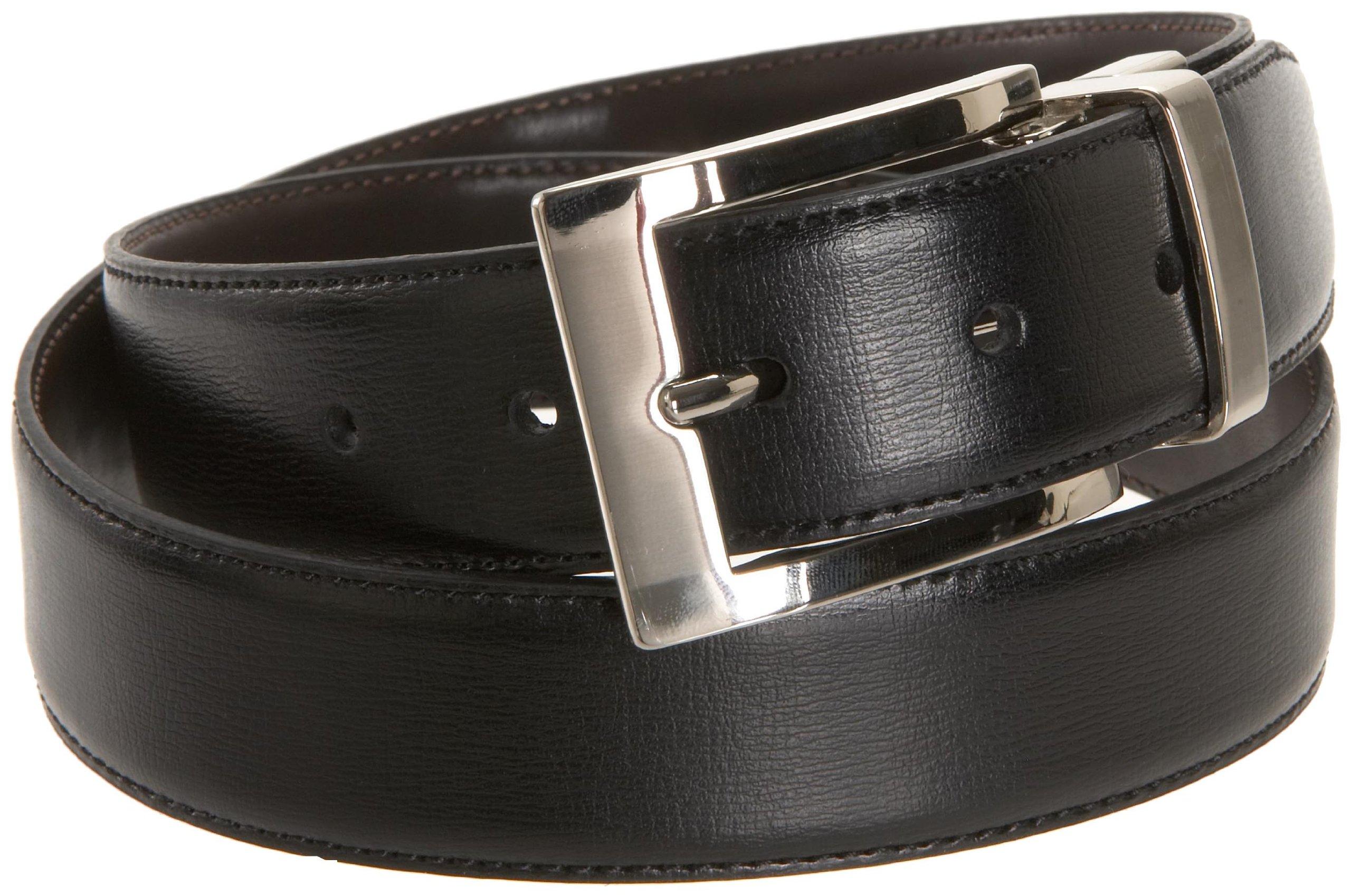 Dockers Men's Reversible Swivel-Buckle Belt